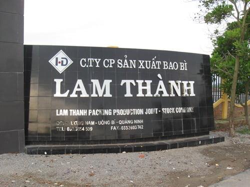 bảng hiệu quảng cáo chữ nổi