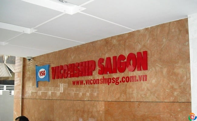 bảng hiệu công ty