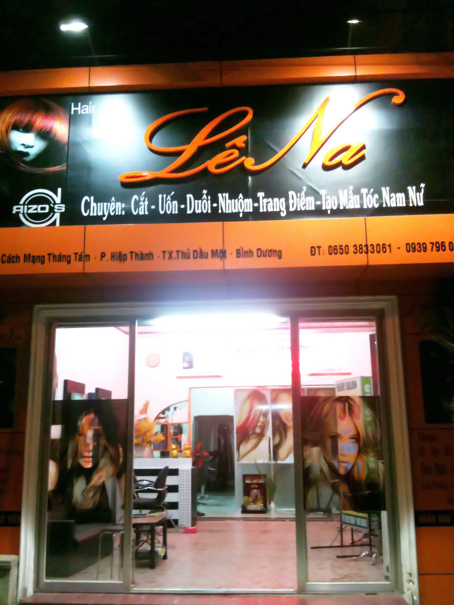 bảng hiệu hair salon