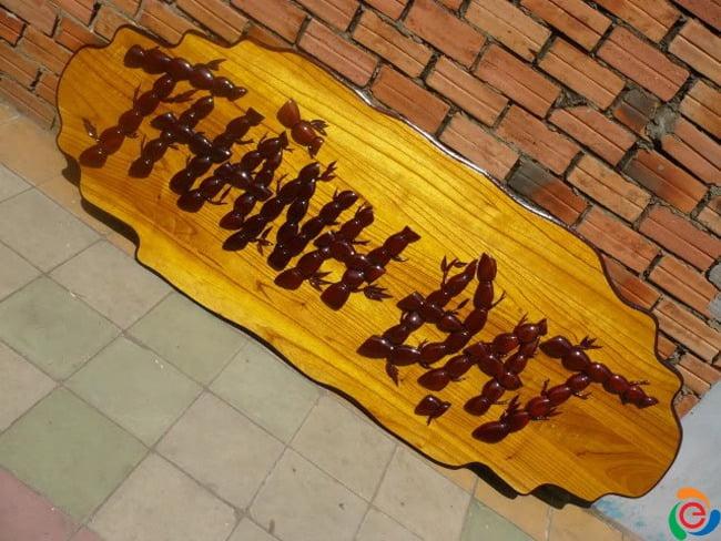 bảng hiệu gỗ