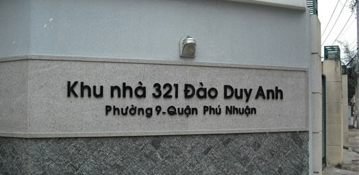 bảng tên nhà, bảng tên công ty