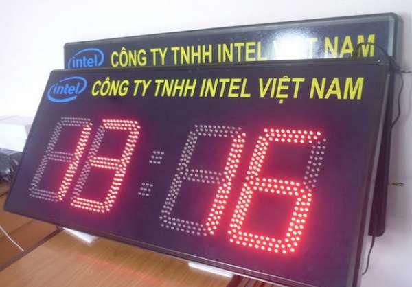 đồng hồ led điện tử
