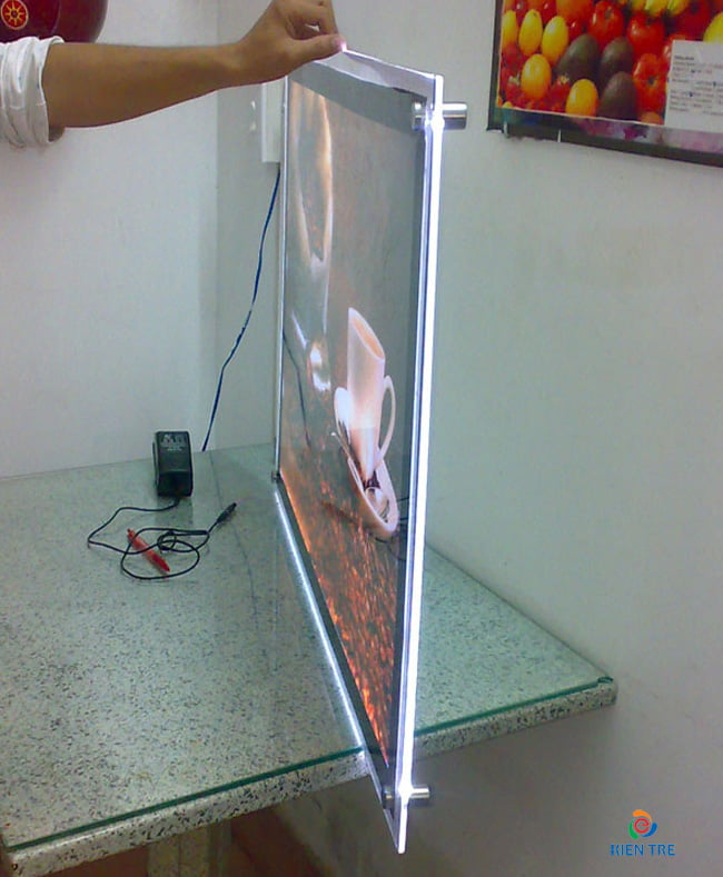 hộp đèn siêu mỏng