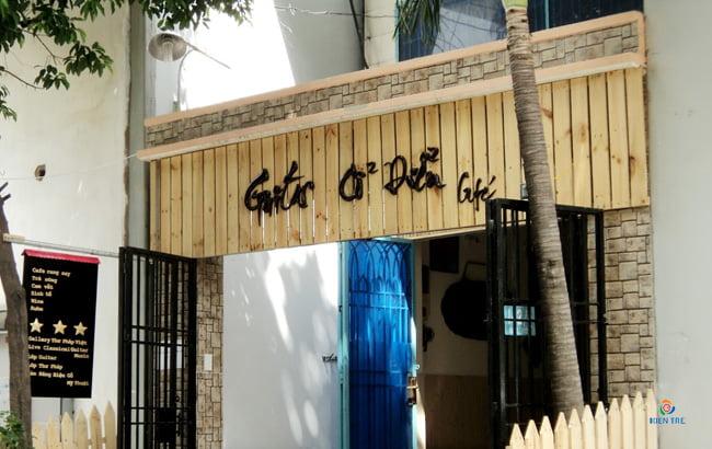 bảng hiệu quảng cáo cafe