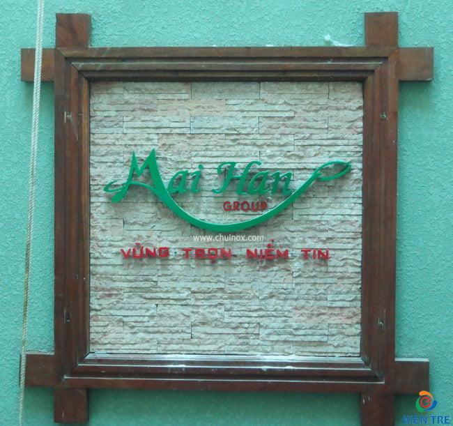 bảng hiệu chữ mica