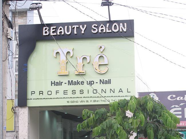 bảng hiệu cắt tóc haistyle