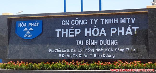 biển hiệu công ty