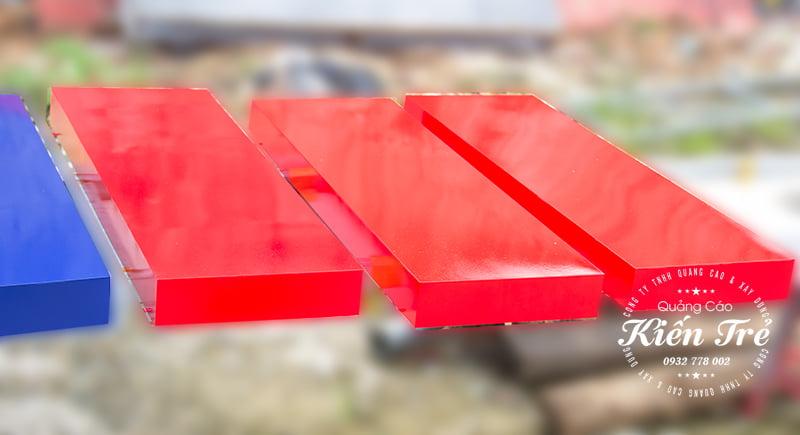 chữ inox phun sơn tĩnh điện