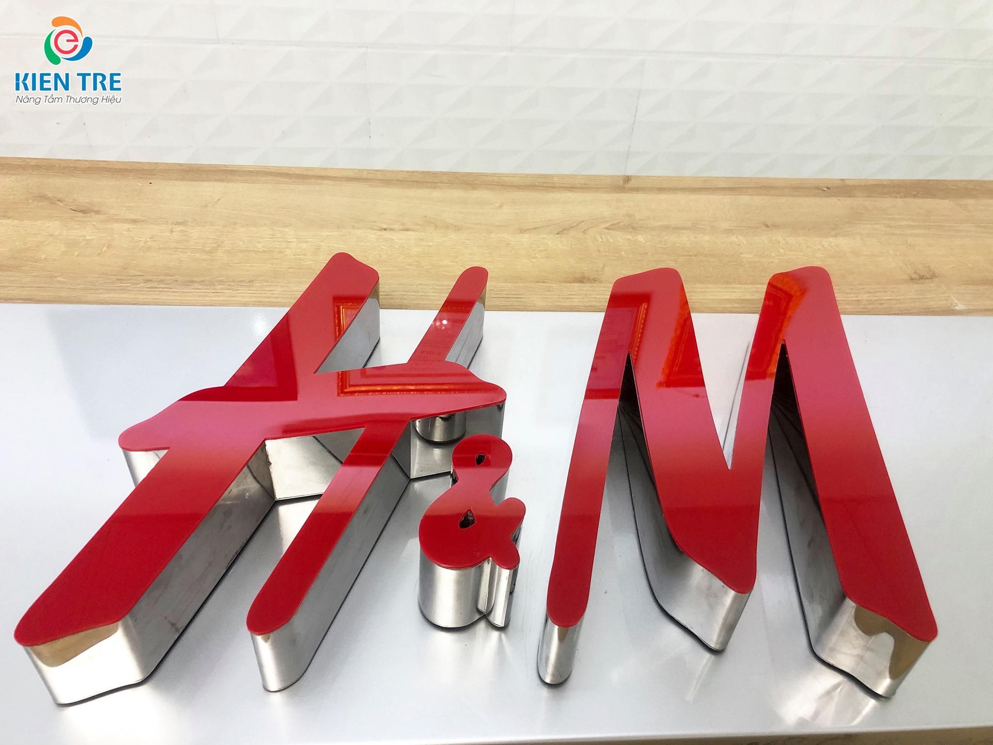 Công ty chuyên gia công chữ inox, chữ nổi inox giá rẻ tại TP.HCM, Bình Dương, Đồng Nai