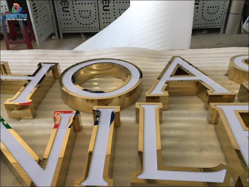 Gia công chữ inox lồng mặt mica đẹp giá rẻ tại Đắk Lắk