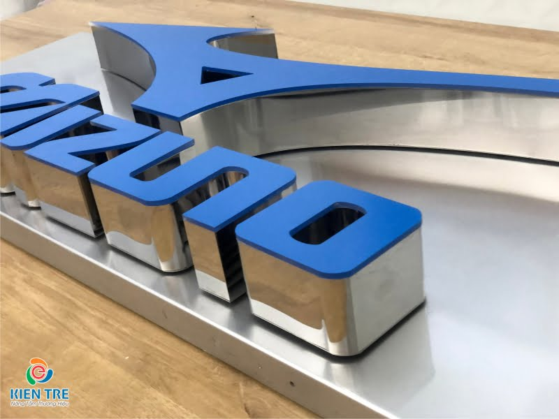 Xưởng gia công chữ inox lồng mặt mica - Mẫu chữ inox lồng mặt mica đẹp, giá rẻ. Liên hệ 0911 86 66 00