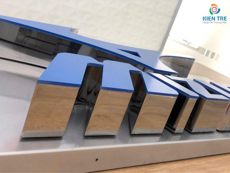 Gia công chữ inox trắng chuyên nghiệp và chất lượng tại HCM