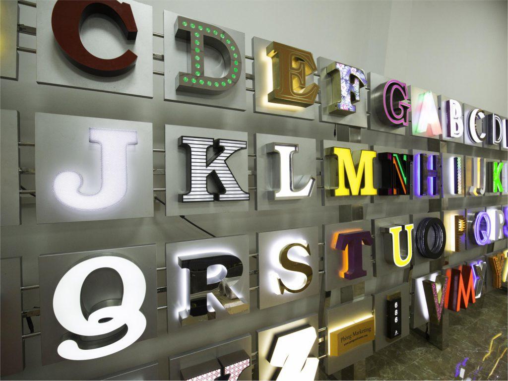 Gia công chữ inox nhanh, rẻ, chất lượng tại Quảng Cáo Kiến Trẻ